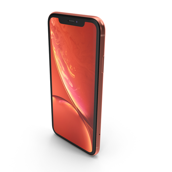 Apple iPhone Xr Coral PNG & PSD Images