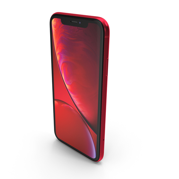 Apple iPhone Xr Red PNG & PSD Images