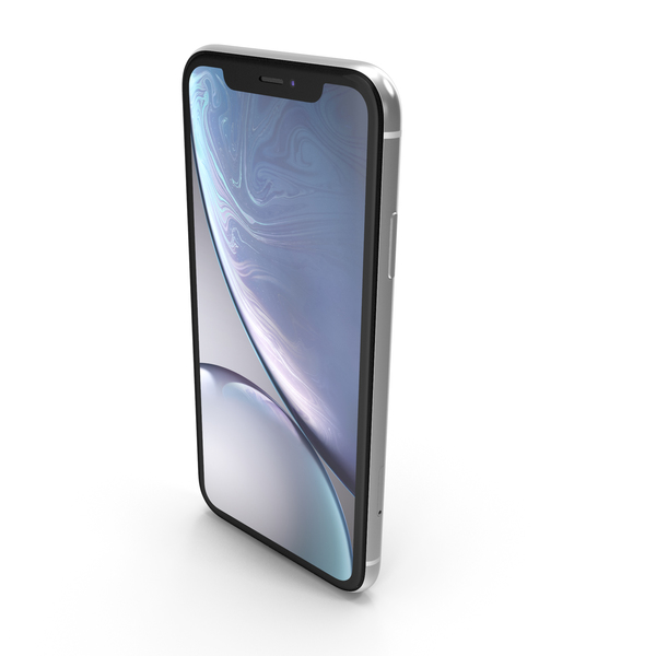 Apple iPhone Xr White PNG & PSD Images