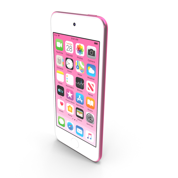Apple iPod Touch  2019  Pink PNG & PSD Images