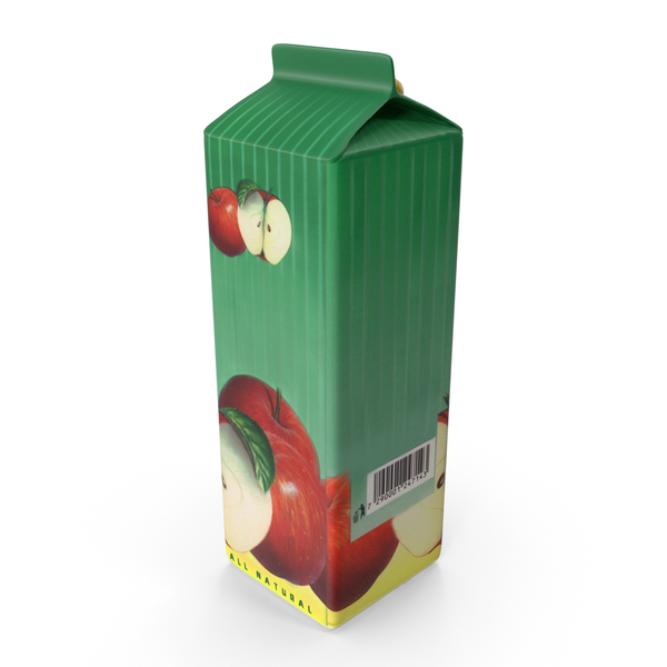 APPLE Juice Carton PNG & PSD Images