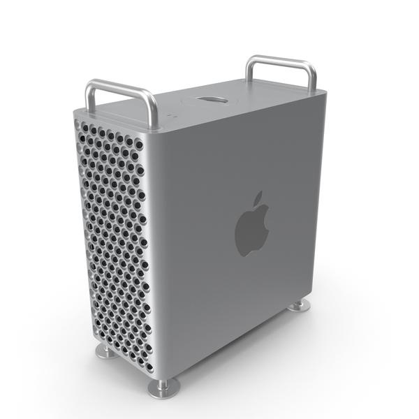 Computer: Apple Mac Pro 2019 PNG & PSD Images