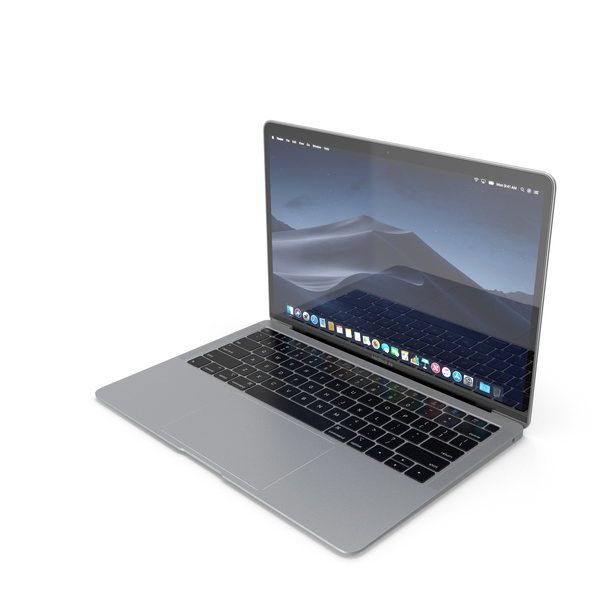 Laptop: Apple MacBook Air 13-inch 2018 PNG & PSD Images