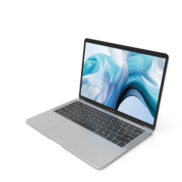 Apple MacBook Air Silver PNG & PSD Images