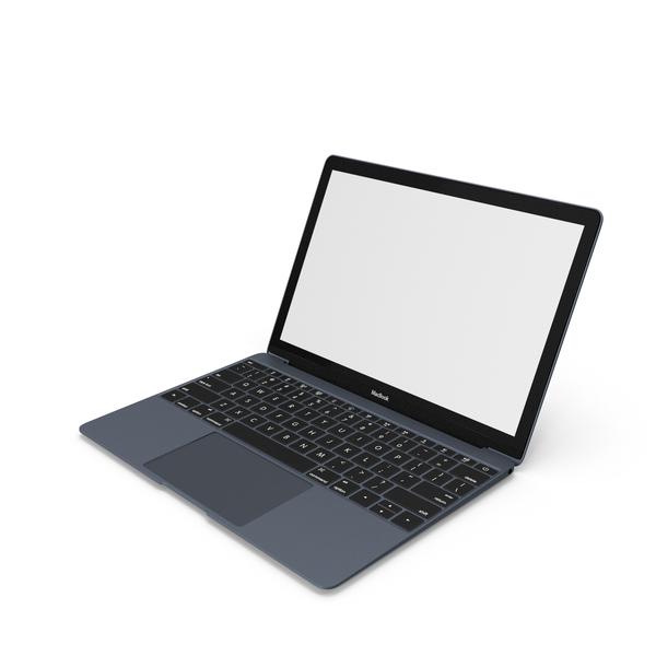 Laptop: Apple MacBook Pro Black PNG & PSD Images