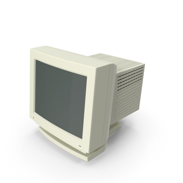 Computer Monitor: Apple Macintosh Color Display PNG & PSD Images
