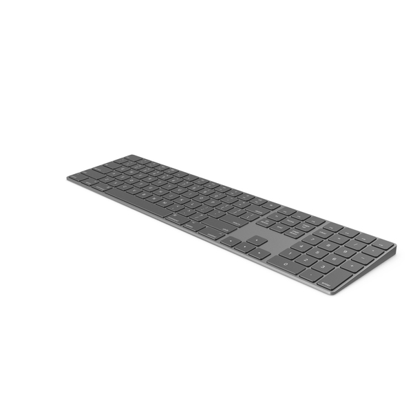 Apple Magic Keyboard Black PNG & PSD Images