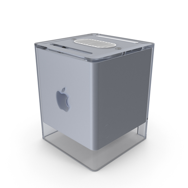 Apple Power Macintosh G4 Cube PNG & PSD Images