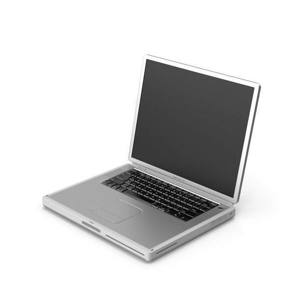Laptop: Apple PowerBook G4 PNG & PSD Images