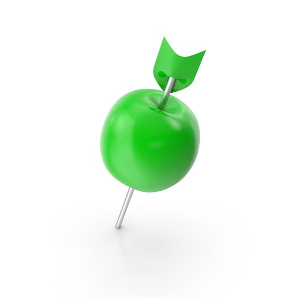 Thumbtack: Apple Push Pin PNG & PSD Images