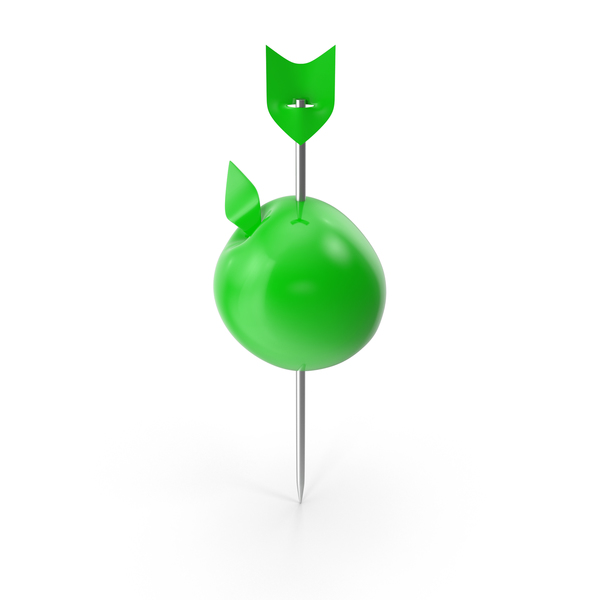 Apple Push Pin PNG & PSD Images