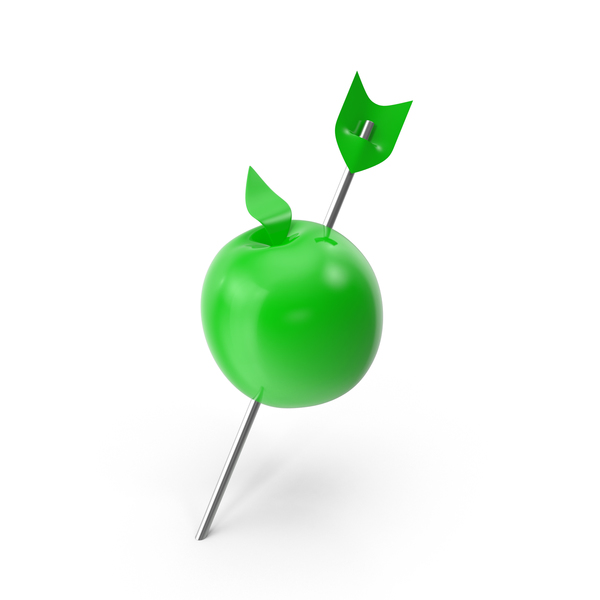 Thumbtack: Apple Push Pin PNG & PSD Images
