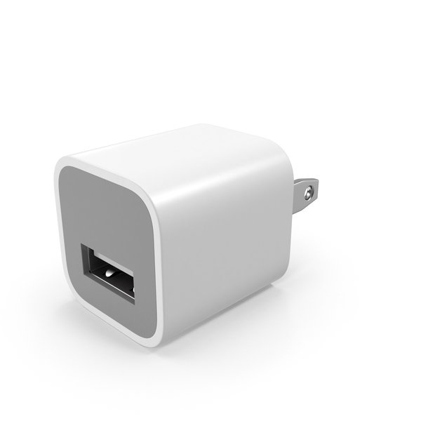 Apple USB Wall Charger PNG & PSD Images