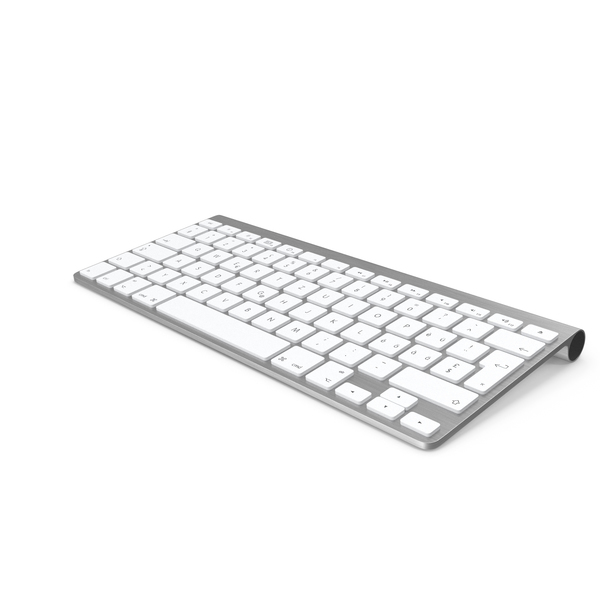 Computer: Apple Wireless Keyboard PNG & PSD Images