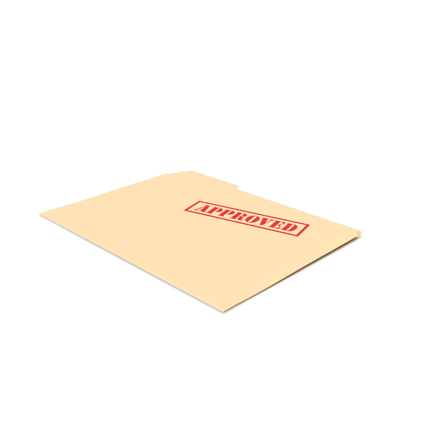 Approved Folder Empty PNG & PSD Images