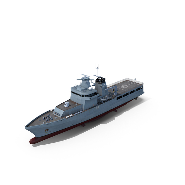 Boat: Arafura-Class Offshore Patrol Vessel PNG & PSD Images