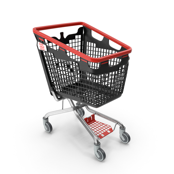 Cart: Araven Plastic Shopping Trolley LOOP 170L PNG & PSD Images