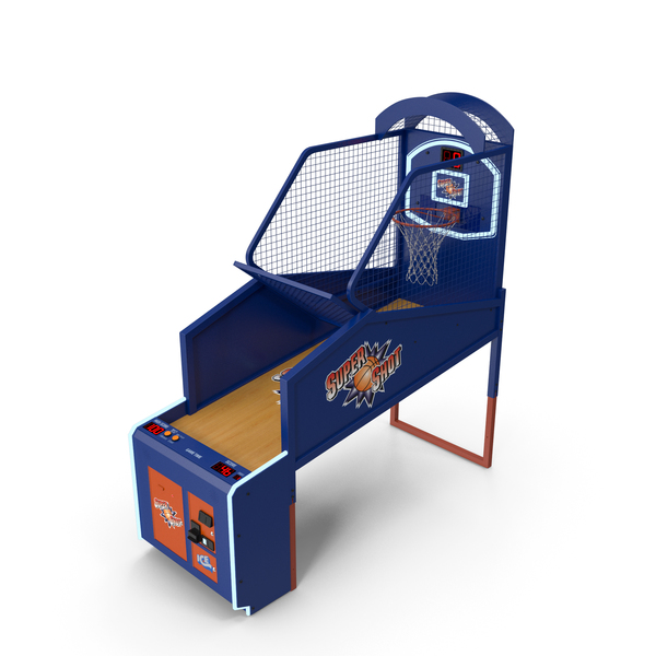 Arcade Basketball Game Machine PNG & PSD Images