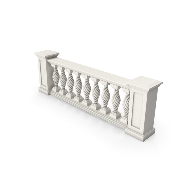 Balustrade: Architectural Module PNG & PSD Images