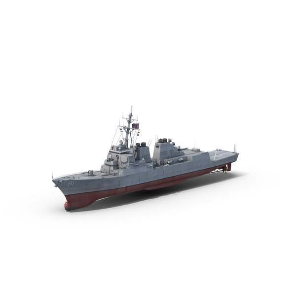 Arleigh Burke Destroyer PNG & PSD Images