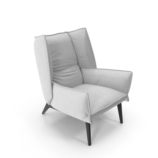 Armchair 4 White PNG & PSD Images