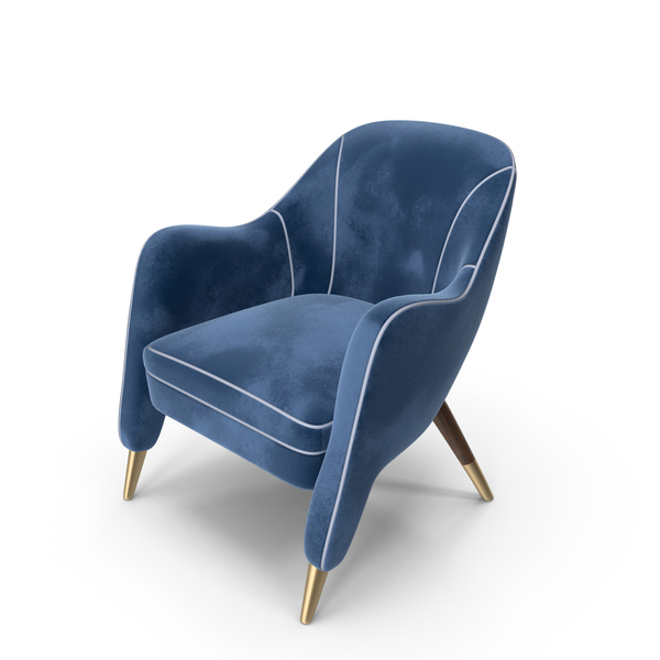 Armchair Blue PNG & PSD Images