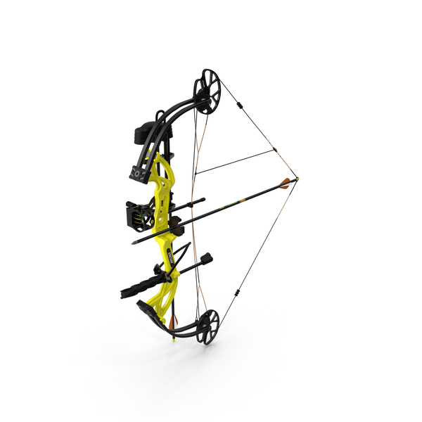 Armed Compound Bow Bear Archery Cruzer G2 PNG & PSD Images