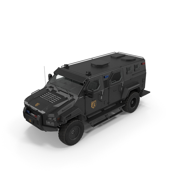 Armored SWAT Truck Pit-Bull VX PNG & PSD Images