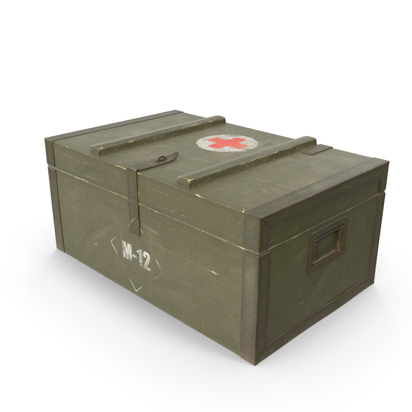 Ammunition: Army Medical Box PNG & PSD Images