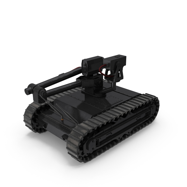 Bomb Squad: Army Robot Black PNG & PSD Images