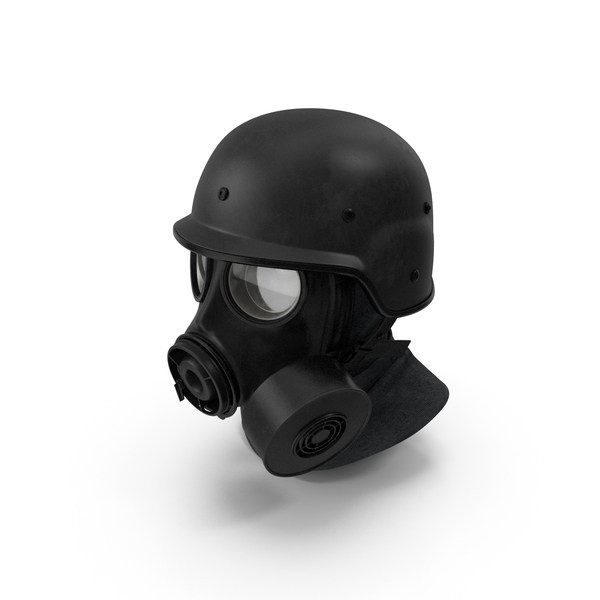 Army S10 Gas Mask PNG & PSD Images