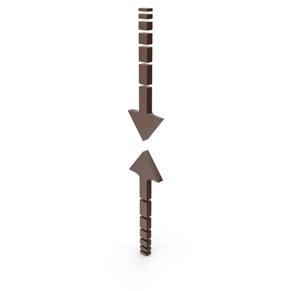 Directional: Arrow Brown PNG & PSD Images