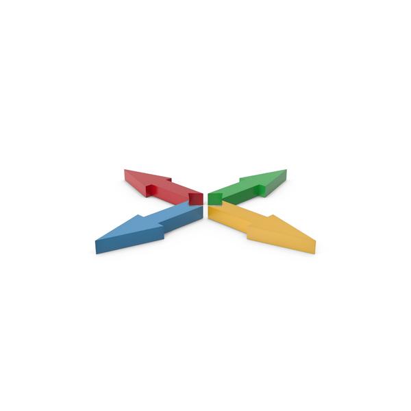Directional: Arrow Colors PNG & PSD Images