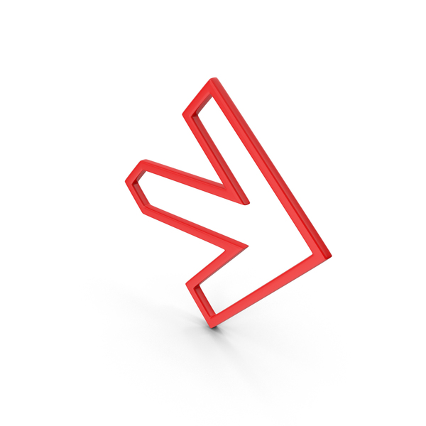 Directional: Arrow Contour PNG & PSD Images