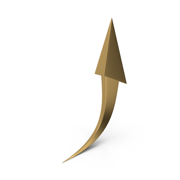 Arrow Gold PNG & PSD Images