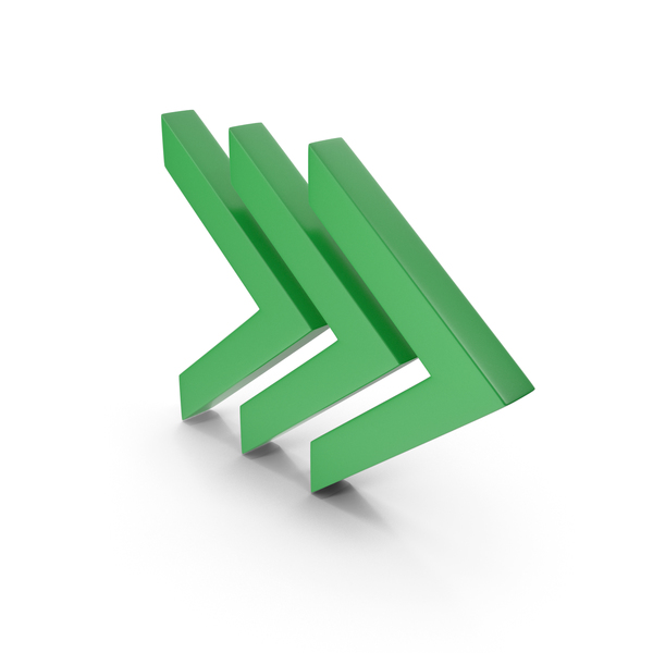 Directional: Arrow Green PNG & PSD Images
