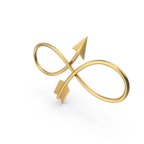 Arrow Infinity Symbol PNG & PSD Images