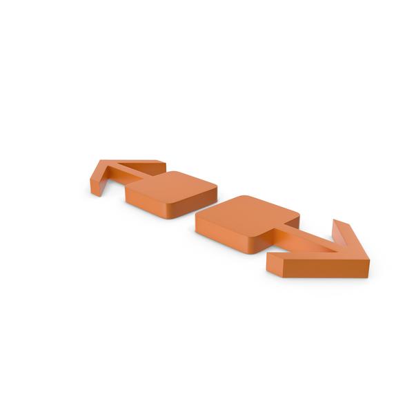 Directional: Arrow Orange PNG & PSD Images
