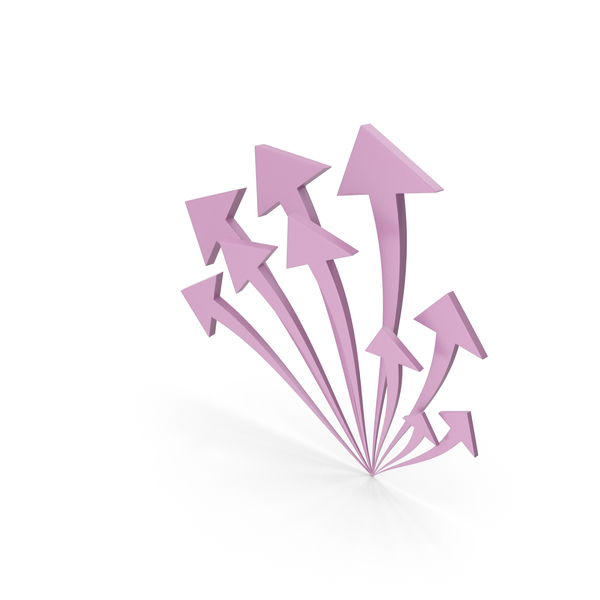 Directional: Arrow Pink PNG & PSD Images