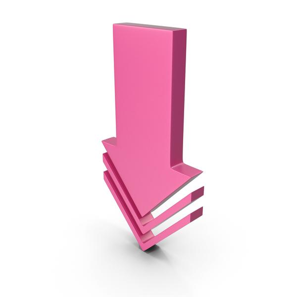 Directional: Arrow Pink PNG & PSD Images