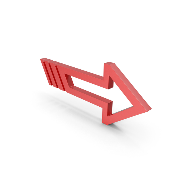 Directional: Arrow Red PNG & PSD Images
