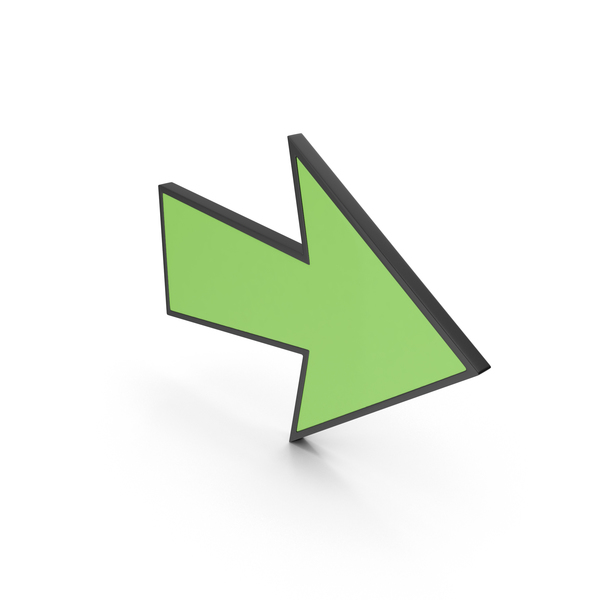 Arrow with Contour PNG & PSD Images