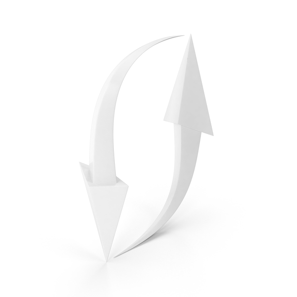 Arrows White PNG & PSD Images