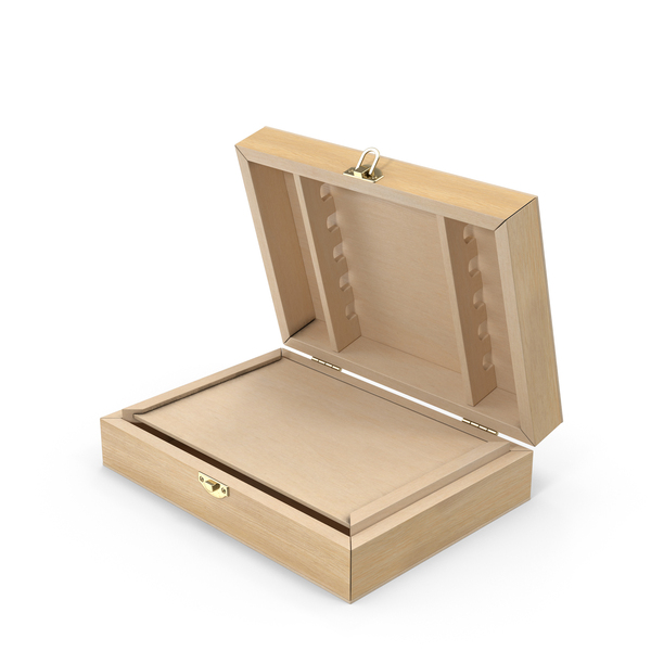 Wooden: Art Storage Box PNG & PSD Images