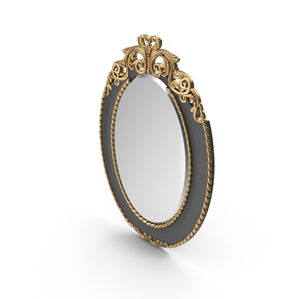 Arte Arredo Oval Mirror PNG & PSD Images