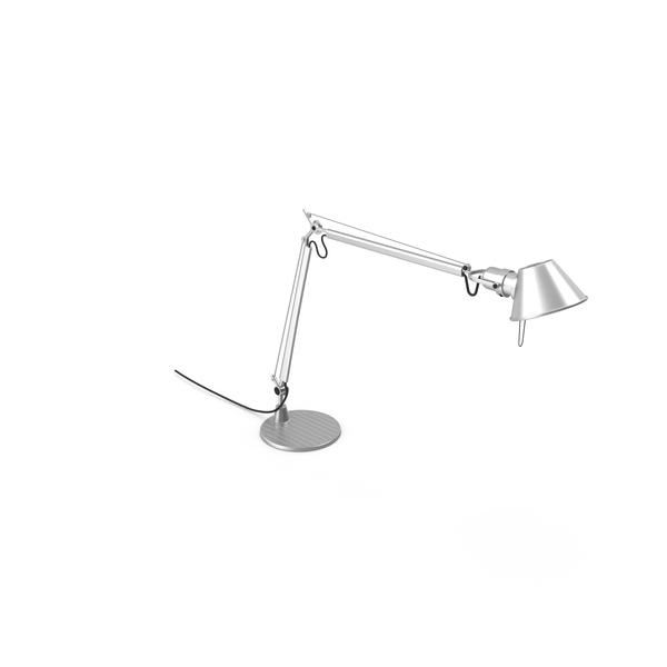 Desk: Artemide Tolomeo Lamp PNG & PSD Images