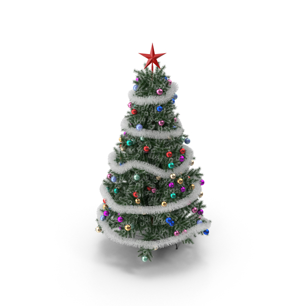 Christmas: Artificial Tree PNG & PSD Images