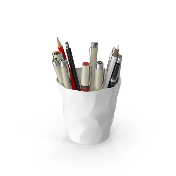 Art Supplies: Artist Cup PNG & PSD Images