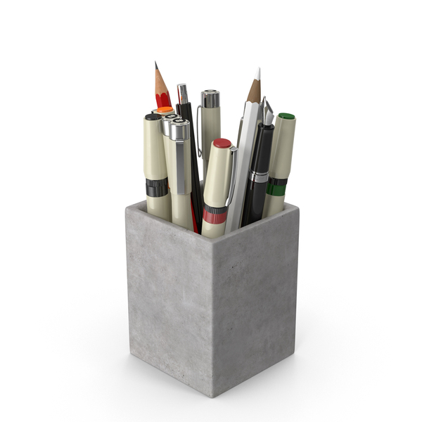 Art Supplies: Artist Cup PNG & PSD Images