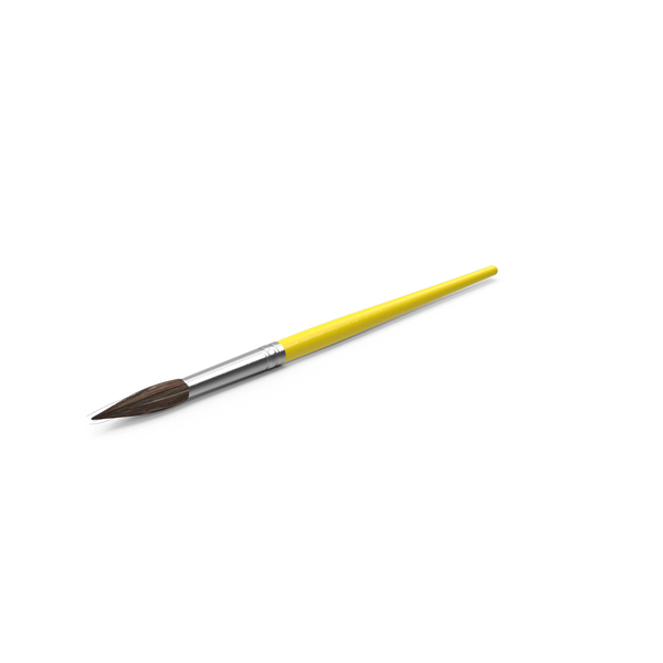 Artist Paint Brush Object